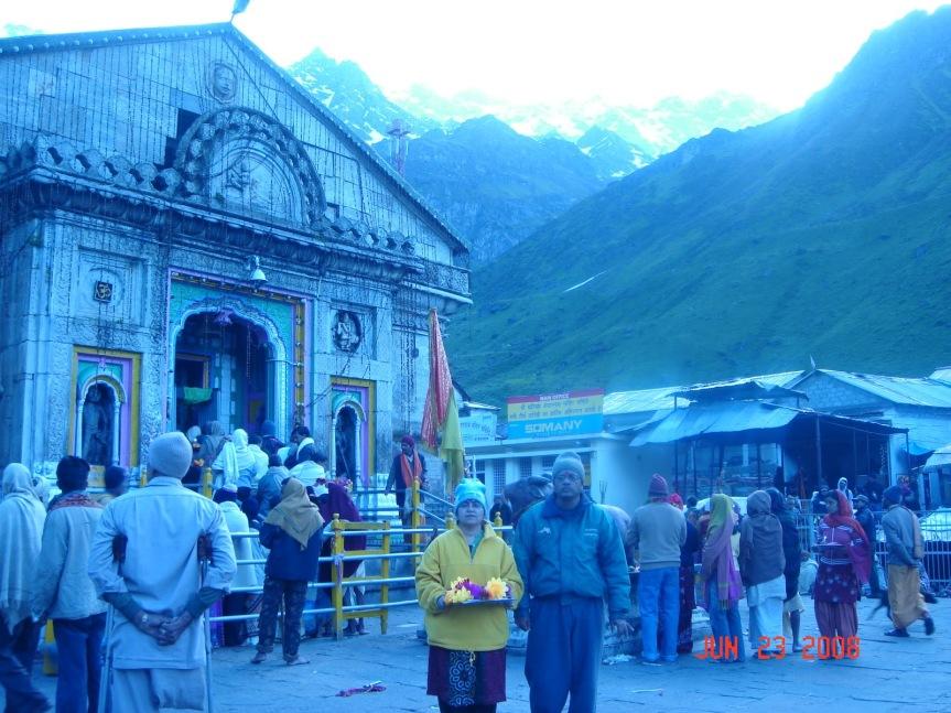 Day 07- Visit to Kedarnath on 22 and 23Jun-2008